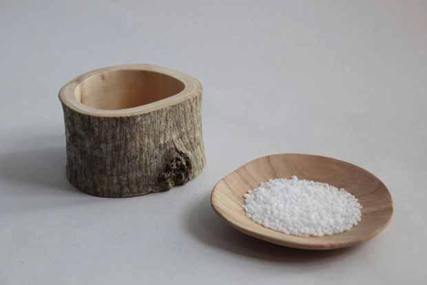 coquetier bois brut