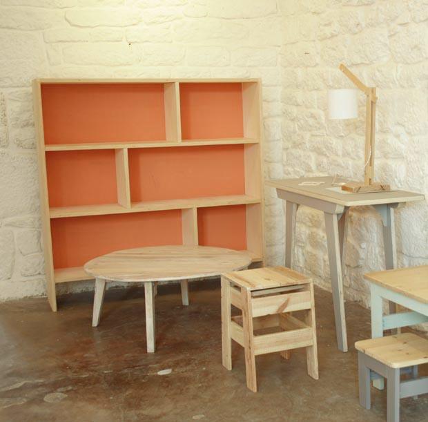 Livre meubles en bois fabriquer soi m me esprit - Construire un meuble ...