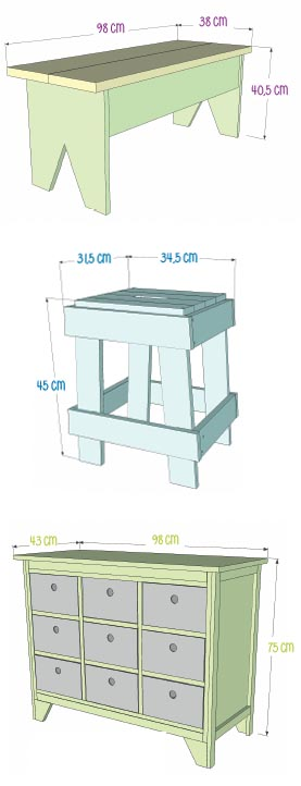 livre meubles en bois fabriquer soi m me esprit cabane idees creatives et ecologiques. Black Bedroom Furniture Sets. Home Design Ideas