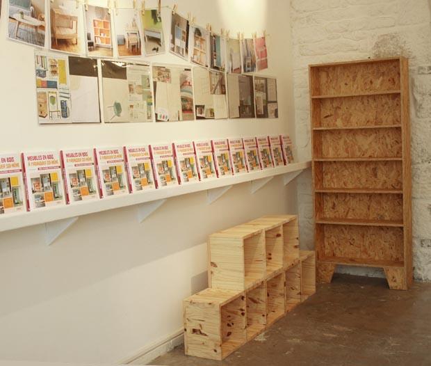 livre meubles en bois fabriquer soi m me esprit. Black Bedroom Furniture Sets. Home Design Ideas