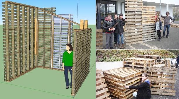 Construire Sa Maison En Palette  Maison Design  BahbeCom
