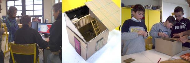 Une cabane palette construite par des coll giens esprit - Taille d une palette europe ...