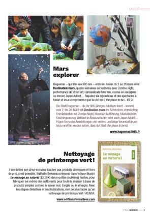 On en parle dans les m dias esprit cabane idees for Halloween 2015 jardin franco allemand