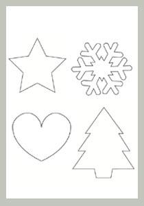 motifs de Noël à imprimer