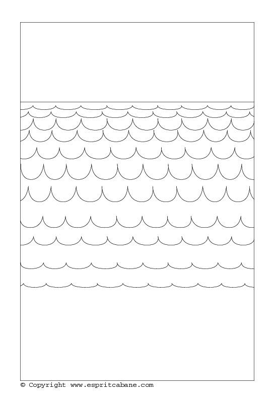 motif vagues