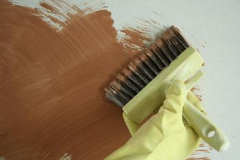 peinture chaux brossée