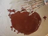 peinture chaux pigment
