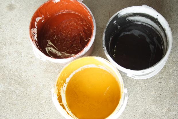 pots peinture suedoise
