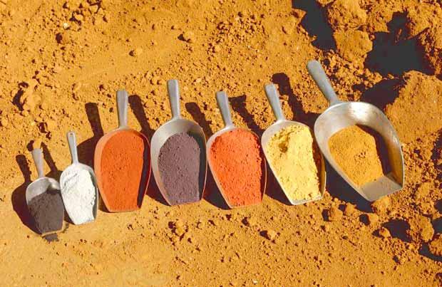 Nuancier Pigments Naturels Esprit Cabane