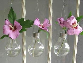 ampoules vases