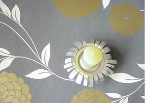 bougeoirs cr atifs en canette esprit cabane idees creatives et ecologiques. Black Bedroom Furniture Sets. Home Design Ideas