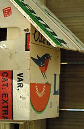 cabane pour les oiseaux esprit cabane idees creatives et ecologiques. Black Bedroom Furniture Sets. Home Design Ideas