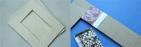 Cadre en carton d co esprit cabane idees creatives et - Marquise pour cadre photo ...