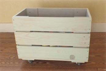 Cr atrice de meubles en bois de palettes esprit cabane - Caisse en bois pour rangement ...