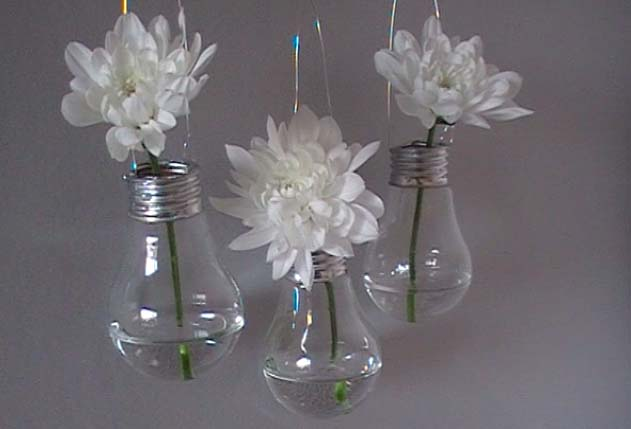 fabriquer vases ampoules