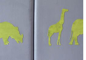 animaux peinture