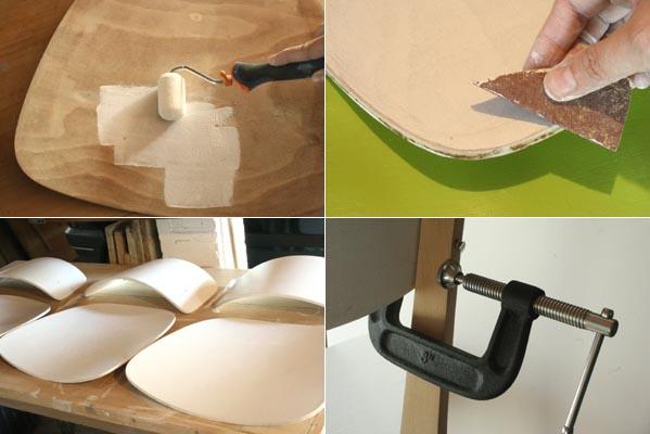 Chaises ann es 50 esprit cabane idees creatives et - Mousse pour chaise ...