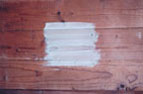 peinture essuyée