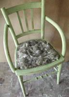chaise crin