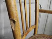chaise enlever vis cassée