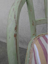 chaise shabby chic