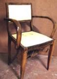 fauteuil bridge avant restauration