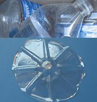 bouteilles plastique