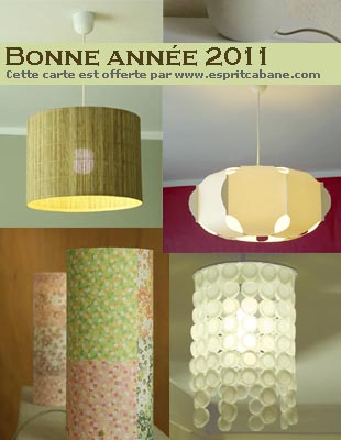 carte 2011 lampes