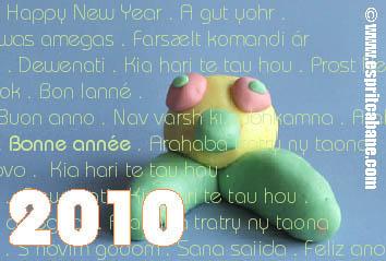 carte voeux 2010