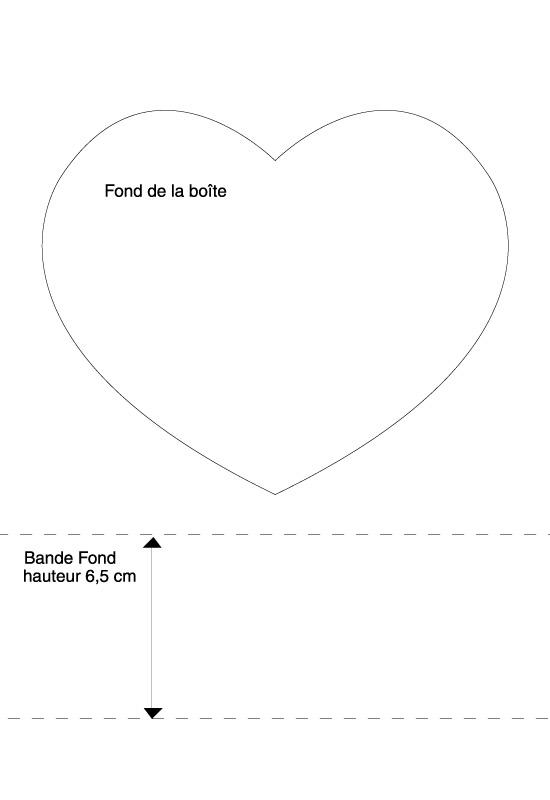 plan boite coeur Saint-Valentin