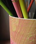 pot crayons decore