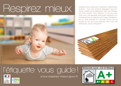 etiquette qualite air interieur bebe