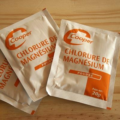 Soigner le coryza du chat à moindre coût de façon naturelle Chlorure-de-magnesium