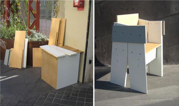 Design meubles de rue par jeremy edwards esprit cabane for Bio concept meubles