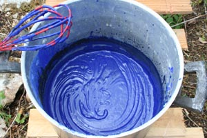 Peinture su doise les cabanes de patricia et de bruno esprit cabane idees creatives et - Recette peinture a la chaux ...